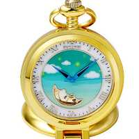 OUYAWEI P11 Sky Pattern Mechanical Fob Pocket Watches