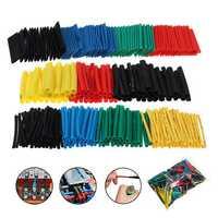560Pcs Heat Shrink Wire Cable Tubing Tube Wrap Sleeve Shrinkable 2:1 Set Kit