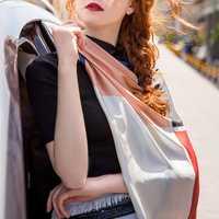 Women Satin Hair Scarf Wrap Headscarf Ties Silk Scarves