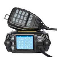 Zastone MP380 Mobile Radio VHF 136-174MHz UHF 400-480MHz Car Walkie Talkie CB Ham FM Transceiver