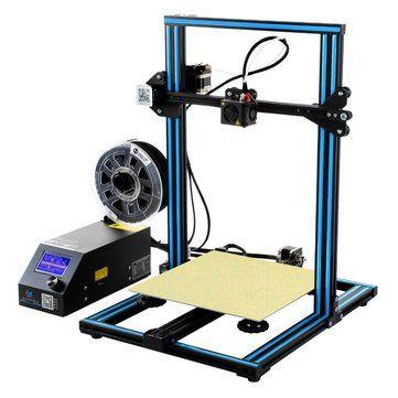 Creality 3D® CR 10 Blue DIY 3D Printer Kit 300*300*400mm Printing Size 1.75mm 0.4mm Nozzle