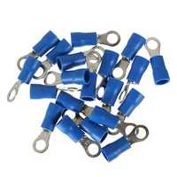 20PCS Blue Heat Shrink Electrical Wiring Crimp Terminal Connectors