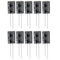 10pcs 35V 1000uF Electrolytic Capacitor Low ESR 13 x 20mm