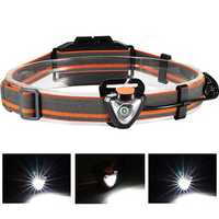 XANES 800LM Headlamp Flashlight 3 * AAA Energy Saving Light for Outdooors Lighting Fishing Cycling