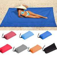 100x145cm Waterproof Beach Mat Outdoor Portable Picnic Mat Camping Sun Shelter Awning Sleeping Mat