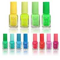 Dancingnail Halloween Fluorescent Neon Pure Candy Color Luminous Nail Polish Non-toxic Glow In Dark