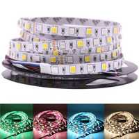 DC12V 5M RGB CCT 5050 5054 SMD LED Non-waterproof Strip String Light Holiday Home Decoration
