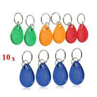 EM4305 125KHZ Copy Rewritable EM ID Keyfobs RFID Tag Key Ring Card