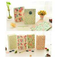 Flowers Craft Paper Best Gift Bag Candy Food Gift Bags with Sticker for Christmas Wedding Party