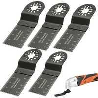 5pcs 35mm High Carbon Steel Oscillating Multitool Saw Blades