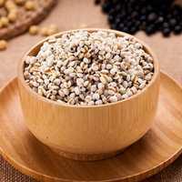 Egrow 30Pcs/Bag Coix Seeds Chinese Pearl Barley Coix Chinensis Seeds Adlay Coixseed Job's Tears Seeds Family Poaceae Adlai Coix Lacryma-jobi Seeds