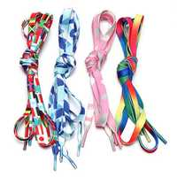 120CM 1 Pair Of Knitting Colorful Shoelaces