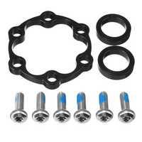BIKIGHT Bike Hub Adapter Front 110MM Conversion Bicycle Boost Spacing Boost Hub Fork Conversion Kit