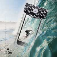 USAMS YD008 10m Under Water Waterproof Bag Screen Touch Phone Pouch For Smartphone Under 6-inch