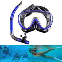 Anti Fog Half Dry Snorkel Goggles Diving Glasses Scuba Swimming Mask Water Sports Equipment