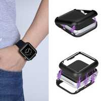 Bakeey Universal Magnetic Adsorption Aluminum Frame Case For iWatch/Apple Watch Series 1/2/3 38mm & 42mm