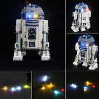 Blocks Accessories LED Light Kit For LEGO 10225 Star Wars R2D2 Robot Bricks Decor Toys