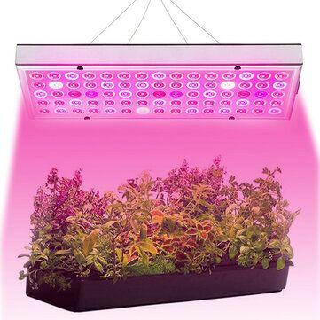 25W 75 LED Plant Grow Light Lamp Full Spectrum For Flower Seeds Greenhouse Indoor