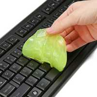 MECO 4PCS Keyboard Cleaning Glue Dust Cleaner Tool Soft Glue Clean Gel