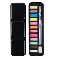12 Colors Water Writing Brush Watercolor Paint Brush