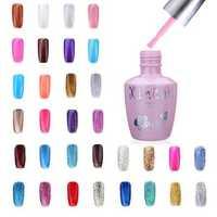 18ml Nail Art Soak Off Glitter 97-144 Color UV Gel Polish
