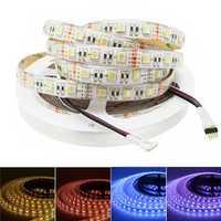 5M RGBW RGBWW 4 In 1 SMD5050 Waterproof LED Strip Light for Home Decoration DC12V