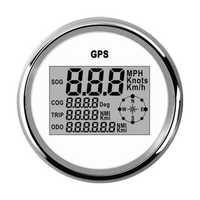 85mm Waterproof GPS Digital Speedometer Odometer Gauge For Auto Car Truck Marine Motorcycle