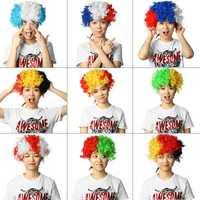 World Cup Russia 2018 Wigs Carnival