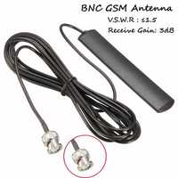 30MHz-1200MHz Scanner Antenna Radio BNC Glass Mount Mobile Full Band GSM Paste