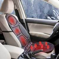 12V Heated Car Seat Cushion Cover Seat Heater Warmer Winter Household Heated Cushion