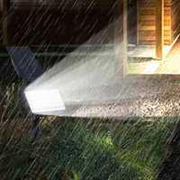 2W Solar Powered 50 LED Landscape Spot Light Outdoor Garden IP44 Waterproof Lawn Lamp