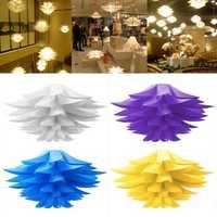 Modern Lotus Pendant Chandelier Pendant Ceiling Lamp Hanging Light DIY Lampshade