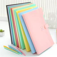 A4 Smile Waterproof File Folder 5 Layers Document Paper Storage Organizer Bag Office School Supplies