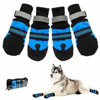 Pet Sock Anti-slip Waterproof Winter Warmer Dog Shoes Portable Soft Comfortable Boots