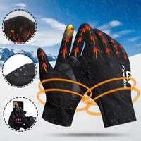 Unisex Outdoor Sports Cycling Bike Finger Gloves Winter Warm Handschuhe Radfahren