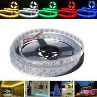 5M SMD5050 300 Waterproof IP67 LED Flexible Tape Strip Light Holiday Home Decor Bar Lamp 12V
