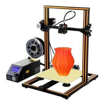 Creality 3D® CR 10 DIY 3D Printer Kit 300*300*400mm Printing Size 1.75mm 0.4mm Nozzle