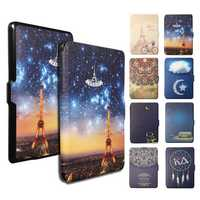 Ultra Slim Premium Protective Shell Leather Cover Case For Kindle Paperwhit