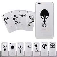 DIY Creative Decal Vinyl Skin Cover Sticker Gifts For iPhone 4 4S 5 5S 5C 6 6S Plus