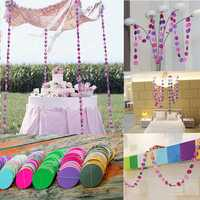 4M Hanging Paper Garland Chain Wedding Birthday Party Ceiling Banner Decoration