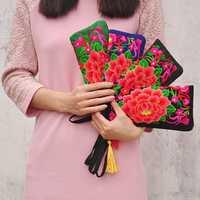 National Style Fashion Purse Embroidery Bag Clutch Bag
