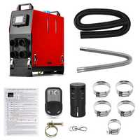 All In 1 Integrated Machine 12V 8000W Diesel Air Heater LCD Car Air Parking Heater with Remote