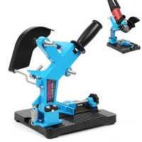 115-150 Angle Grinder Stand Angle Cutter Support Bracket Holder Dock Cast Iron Base Holder