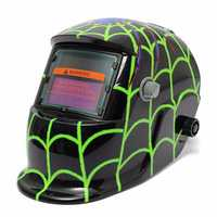 New Style Green spider Solar Welder Mask Auto Darkening Welding Helmet Arc Tig
