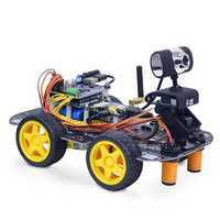 Xiao R DIY Smart Robot Wifi Video Control Car Kit With WiFi Module 2DB Antenna Camera