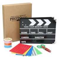 Clapboard Clipboard DIY Stern Scrapbooking DIY Photo Album Card Paper Craft With Storage Box