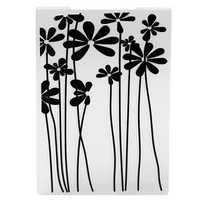 Plastic Embossing Folder Flower DIY Scrapbooking Photo Album Card Cutting Dies Template Craft