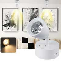 3W LED Spotlight Bedside Reading Ceiling Wall Light Lamp Adjustable AC85-265V