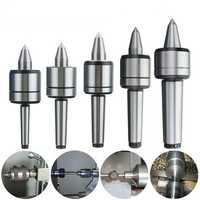 MK1/MK2/MK3/MK4/MK5 60 Degree Live Milling Center Tool Precision Morse Taper Bearing Lathe Turning Revolving
