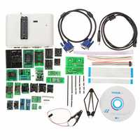 RT809H EMMC-Nand Flash Extremely Fast Universal Programmer Kit Programmer + 29pcs Adapters With Cables